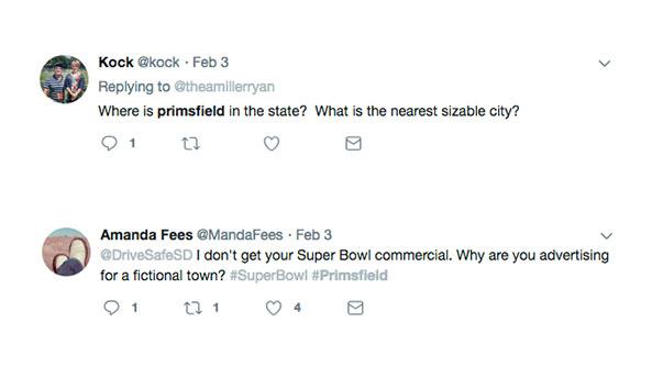 Primsfield Social Response