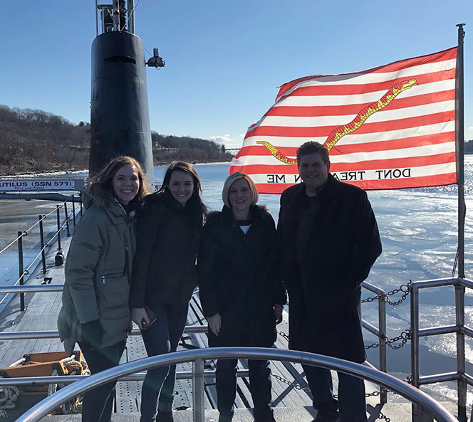 Members on SSN 790