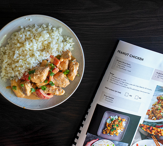Peanut Chicken | Food Photography