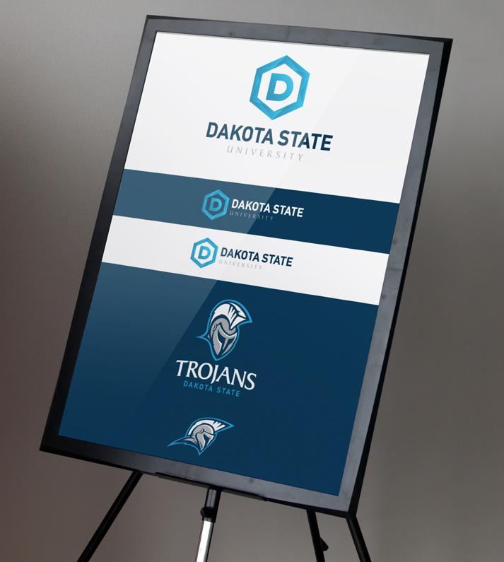 Dakota State Signage