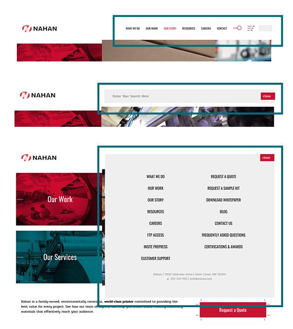 Nahan Website
