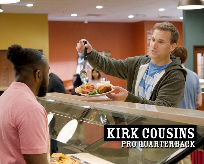 Kirk Cousins | Pizza Ranch