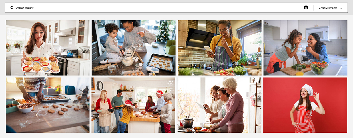 Searching Stock Photos