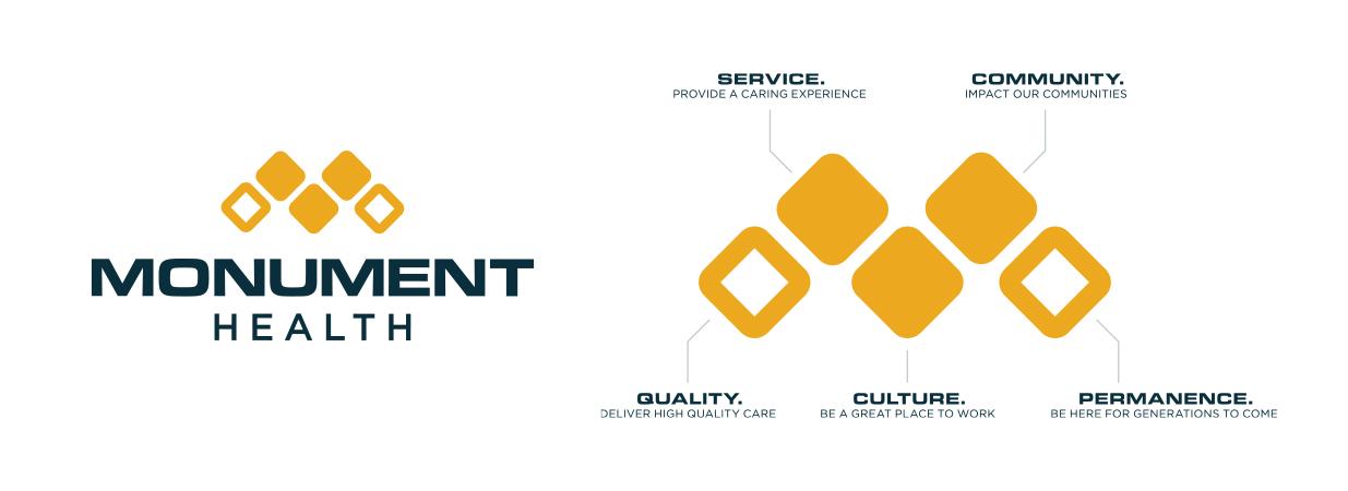 Monument Health Logos