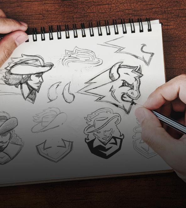 Sketch of Logos