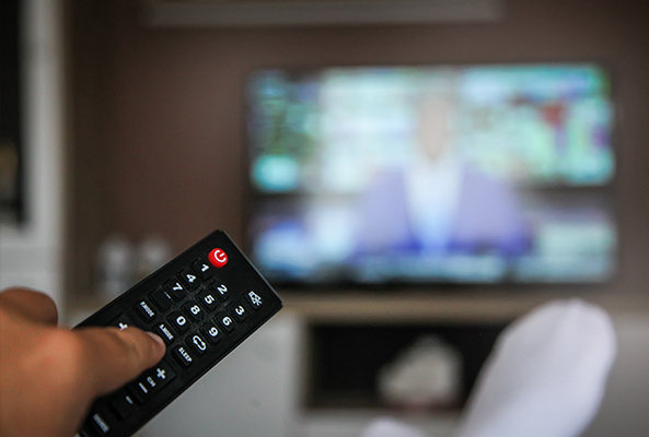 Watching TV | Adjusting Media During COVID Blog