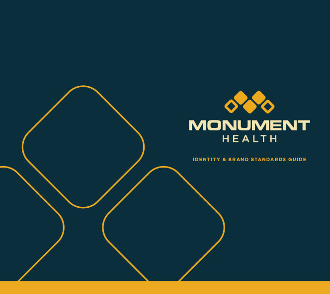 Monument Health Brand Standards | Monument Health Work Sample
