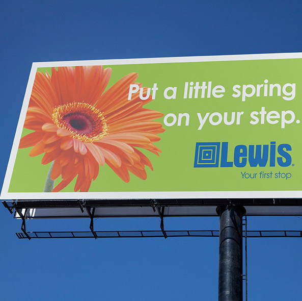 Lewis Billboard