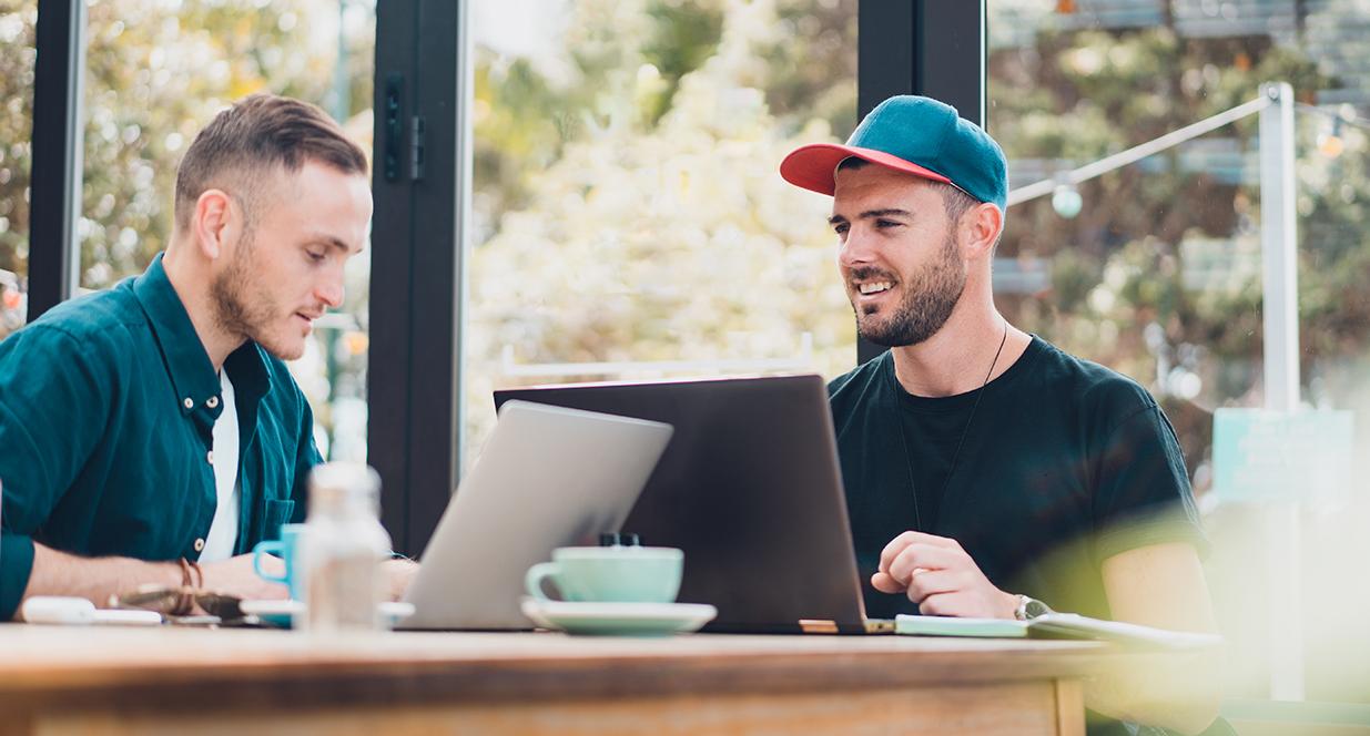 Two Men Studying | Gen Z Blog, L&S
