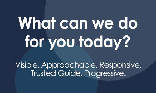 What can we do for you today? | Department of Revenue Work Sample, Lawrence & Schiller
