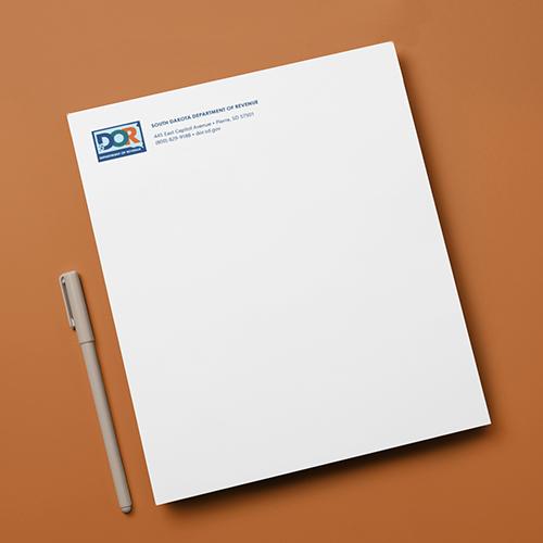 DOR Branded Document | Department of Revenue Work Sample, Lawrence & Schiller