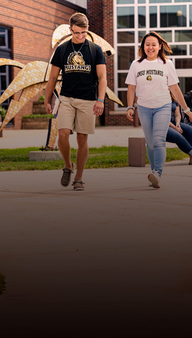 Walking on Campus | SMSU Work Sample