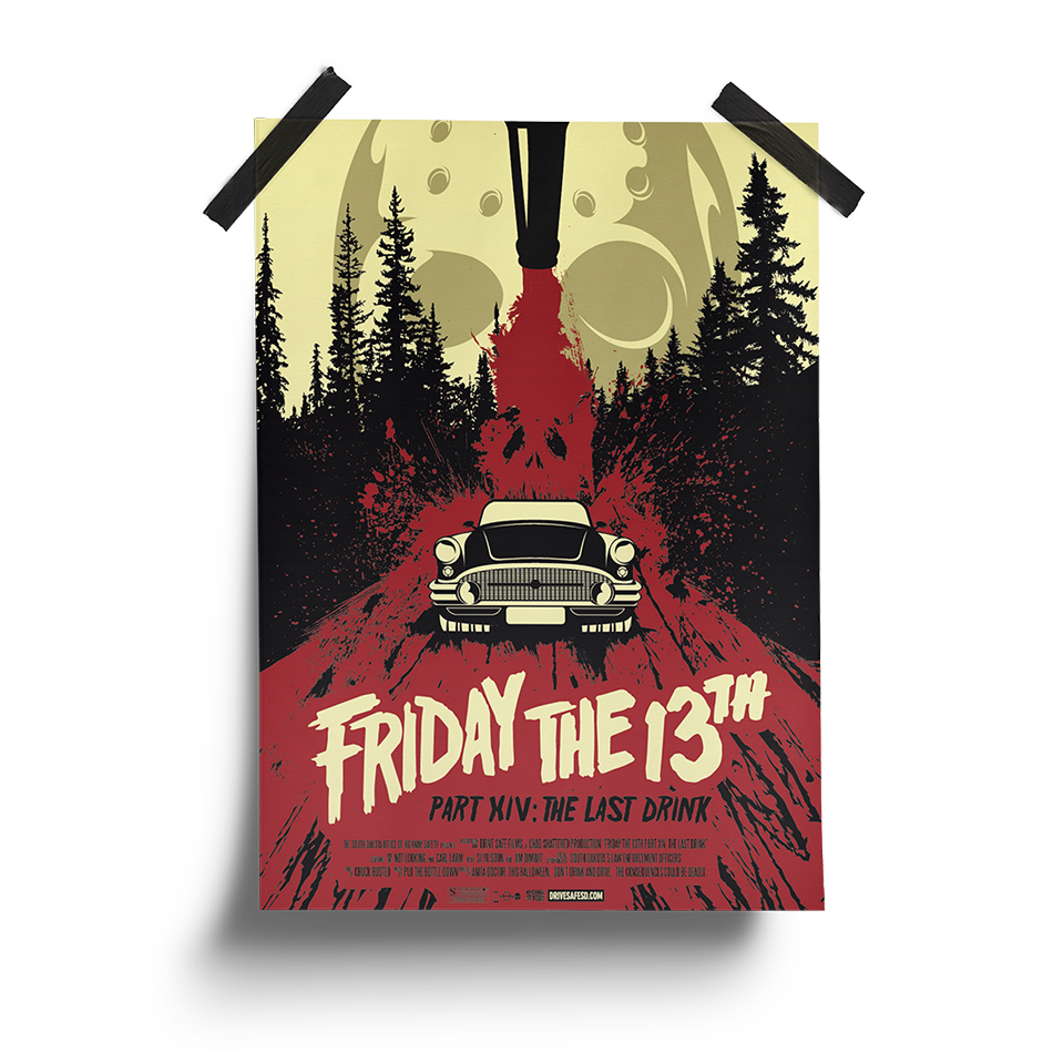 Friday the 13th | South Dakota Office of Highway Safety Movie Posters