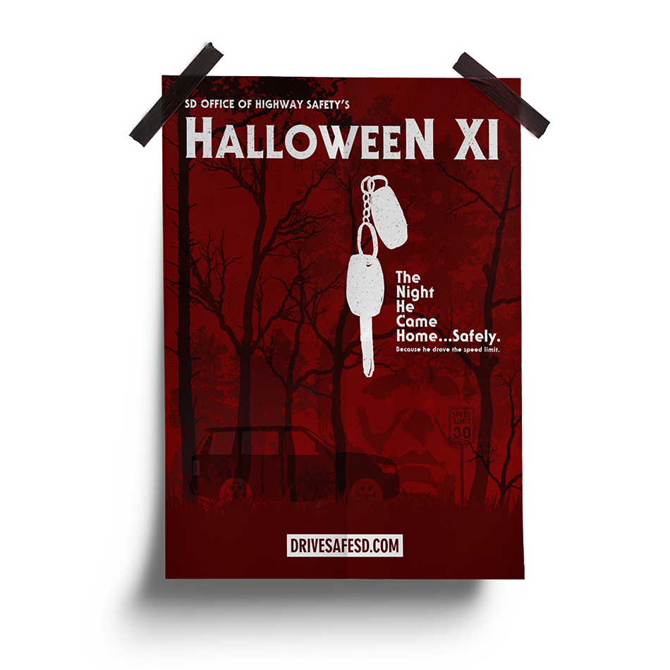 Halloween | South Dakota Office of Highway Safety Movie Posters