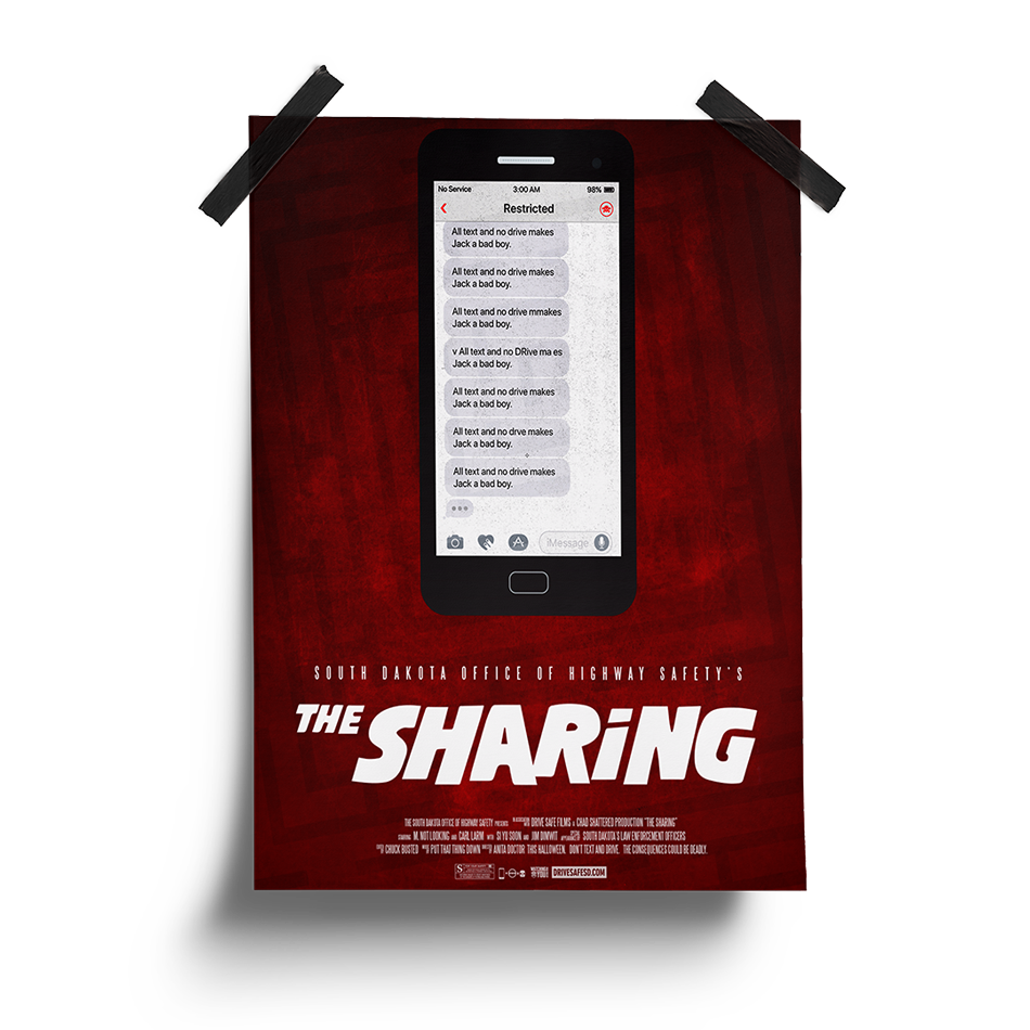 The Sharing Poster | South Dakota Office of Highway Safety Movie Posters