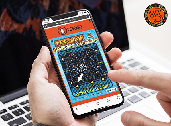 South Dakota Lottery Experience Piece | W3 Award