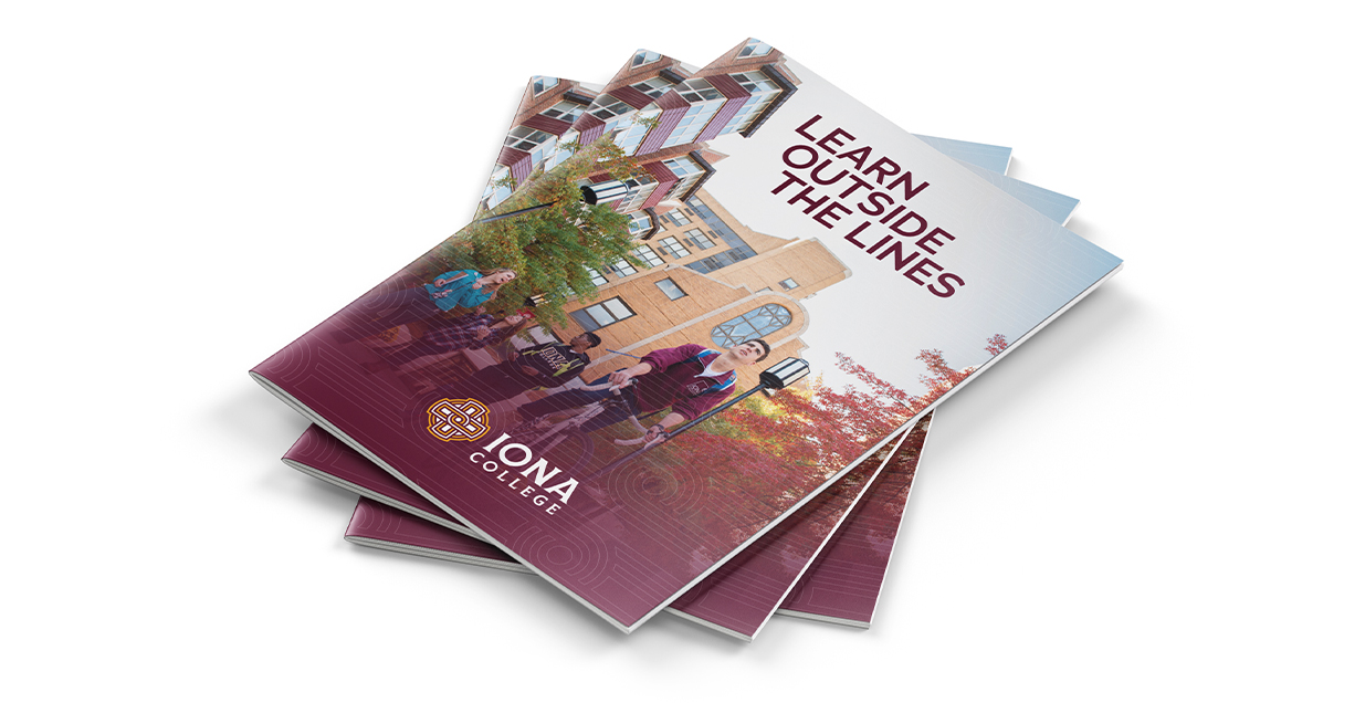 Iona Pamphlet | Iona College Rebrand