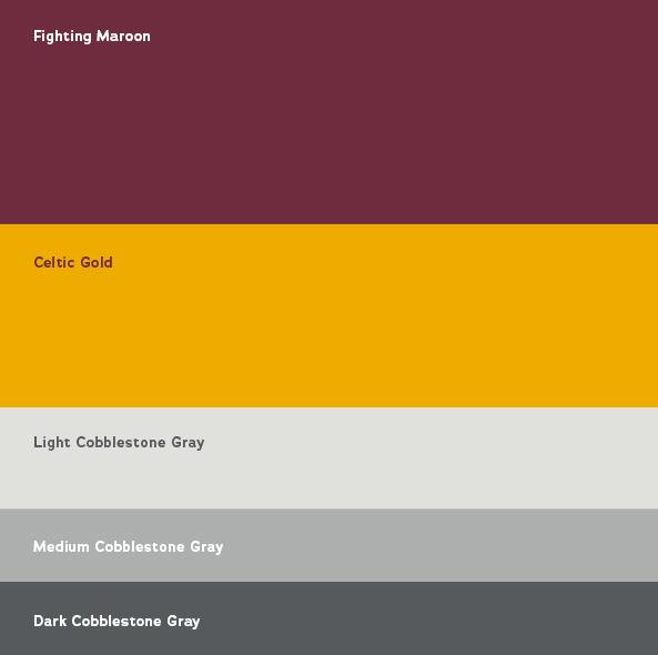 Color Guide | Iona College Rebrand