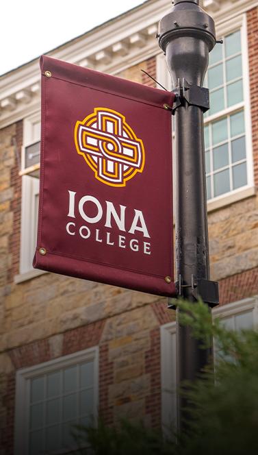 Iona Flag | Iona College Rebrand