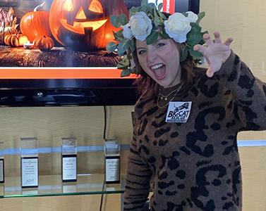 Halloween dressup Carol Baskin
