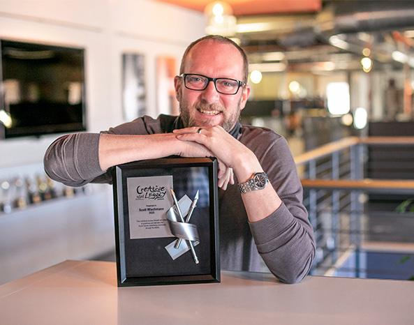 Award Winner, Scott Wiechmann