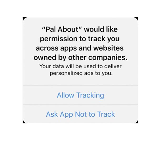iOS 14 prompt