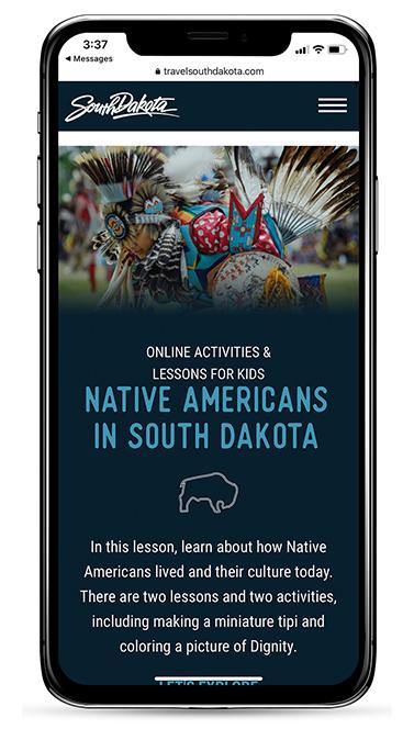 travelsouthdakota.com on mobile
