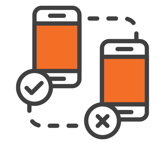 mobile phone functionality icon